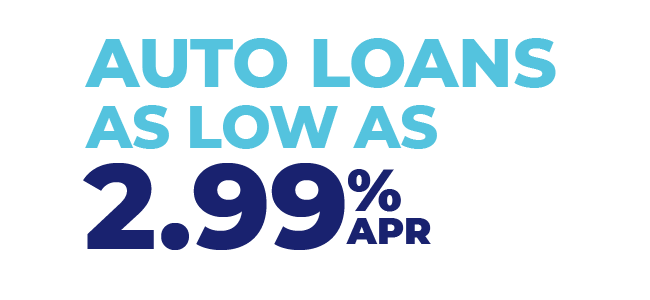 Auto Loans as Low as 2.99%