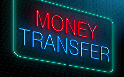 Wire transfer sign