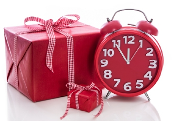 Present and a clock