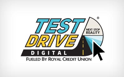 test drive digital logo