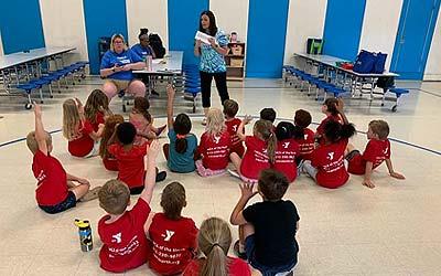 Kids at YMCA