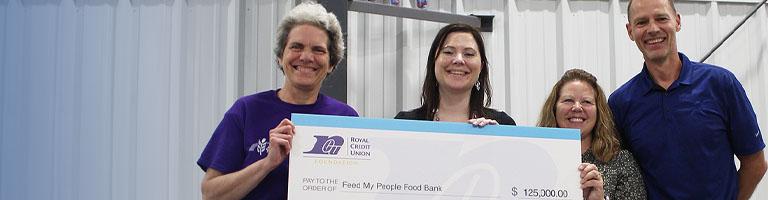 RCU Foundation team awards a bid