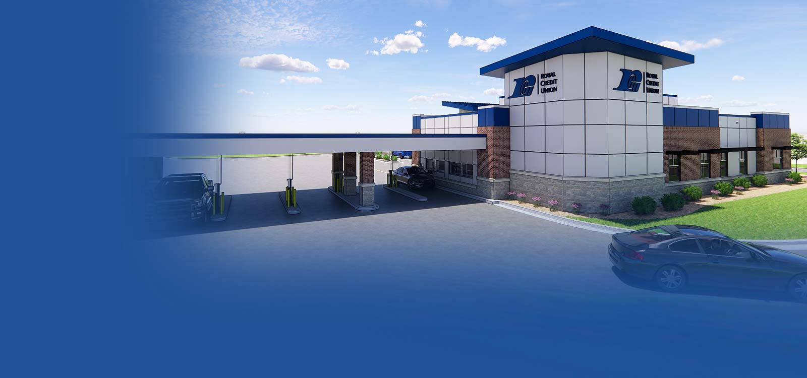 Rendering of the new Altoona Office