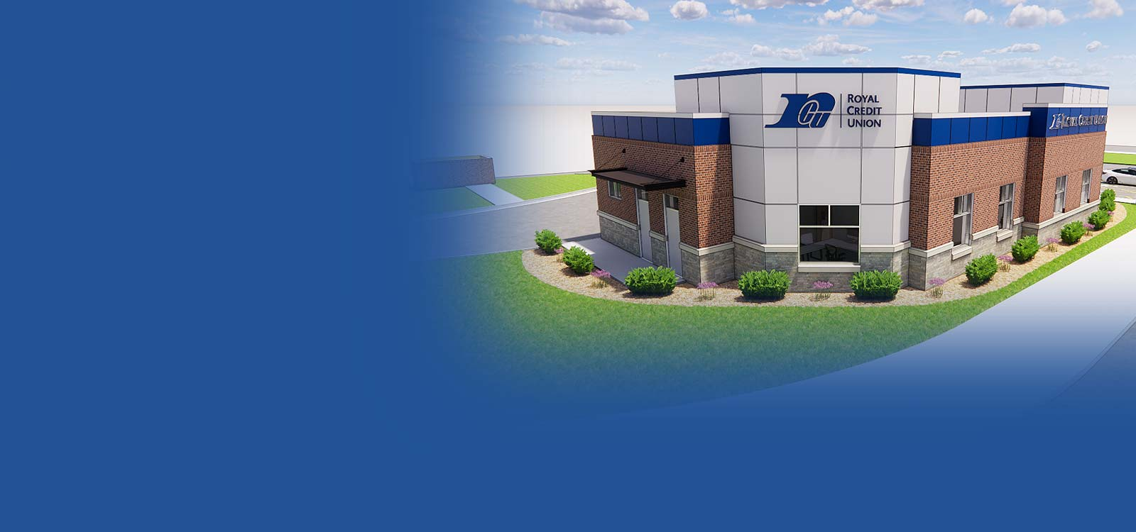Rendering of new Eau Claire Downtown office