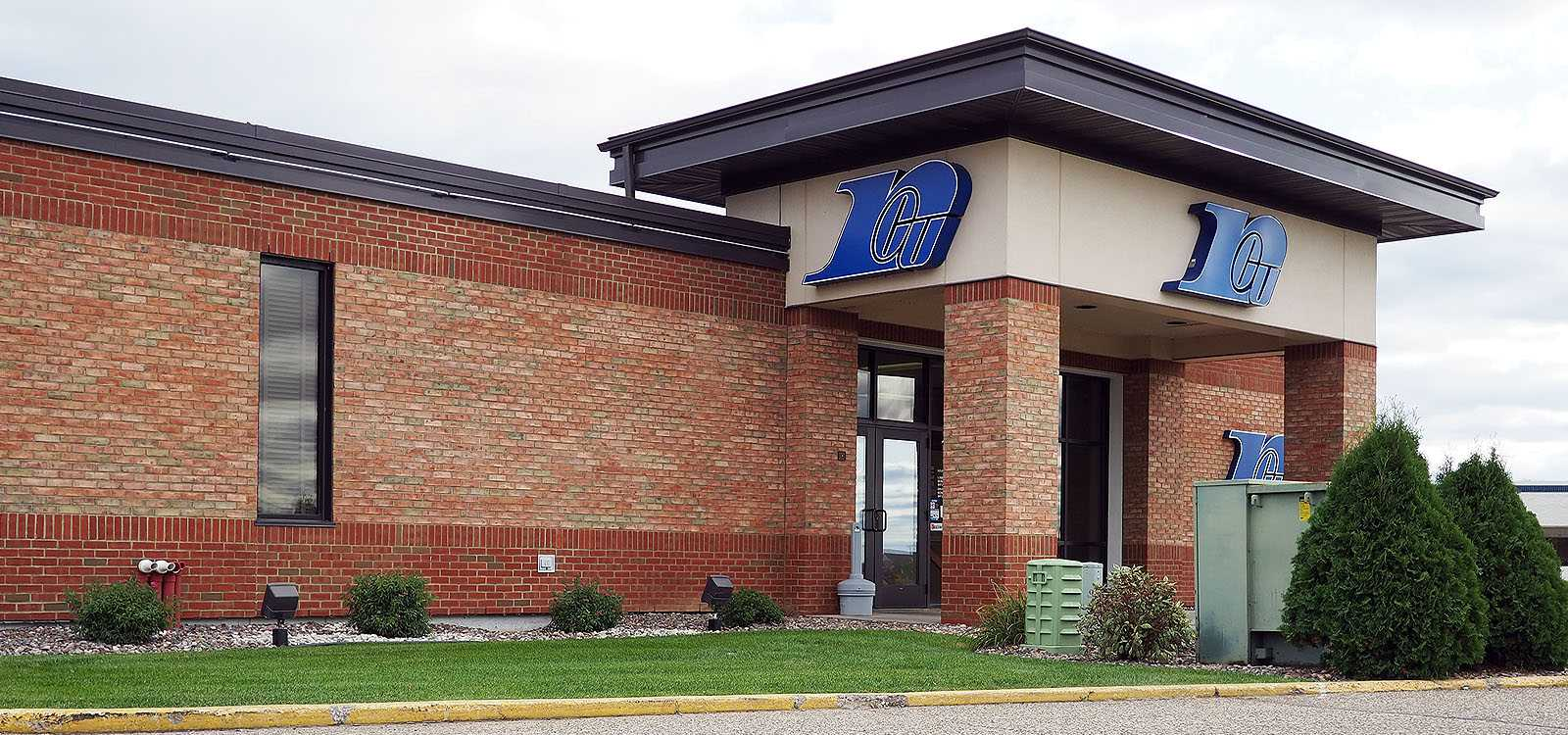 front of royal credit union office