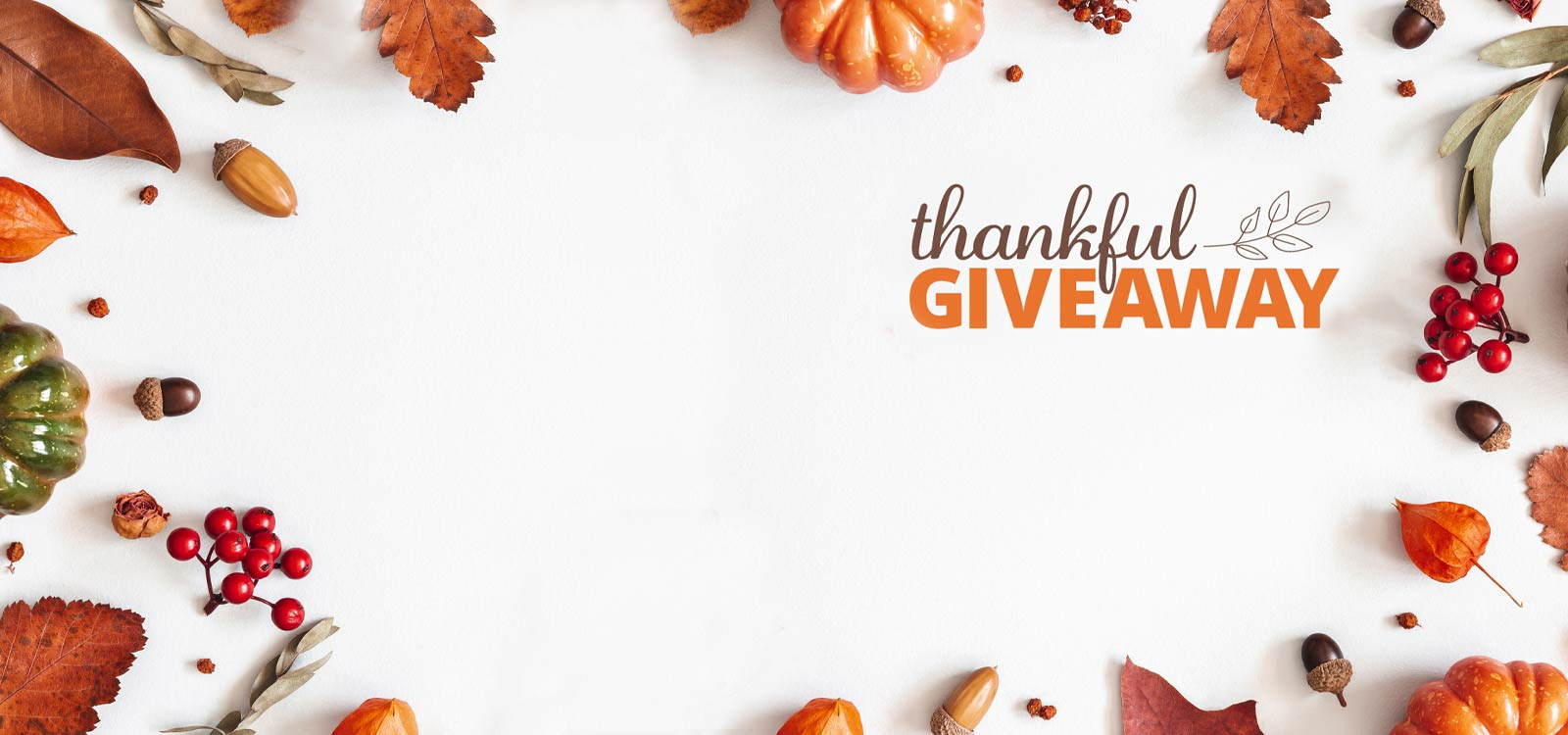Thankful giveaway logo